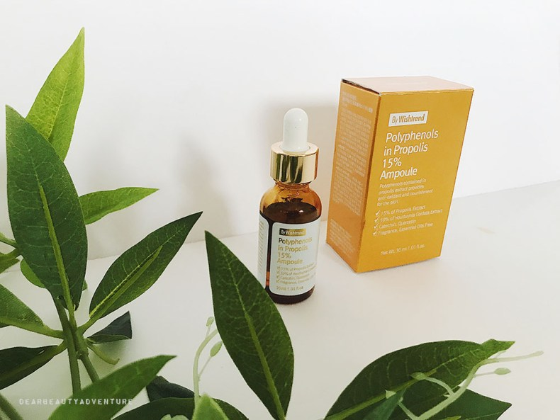 By Wishtrend Polyphenols in Propolis 15% Ampoule Review - Dear