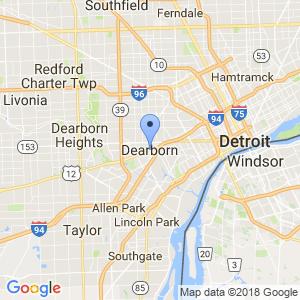 Dearborn Dumpster Map