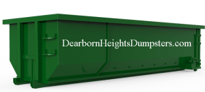 Dumpster Rental Dearborn Heights