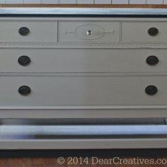 Kitchen Island Made Out Of Dresser Art For To - Cart #diy With #chalkyfinish ...