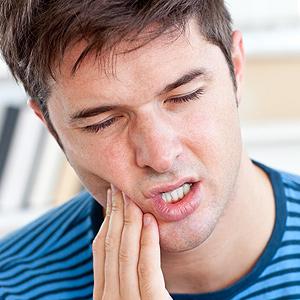 dental injury.