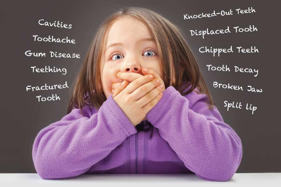 Childrens Dental Concerns and Injuries