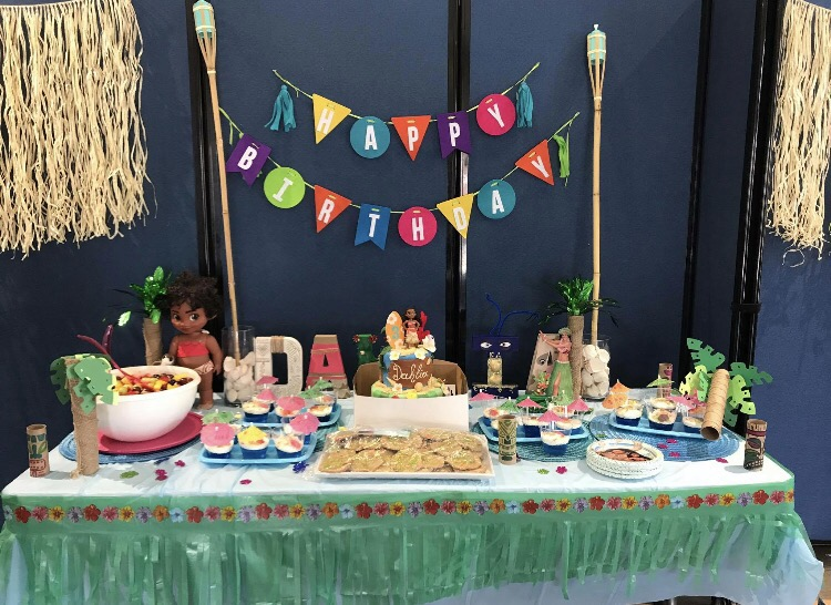 'Make it' Monday: Dahlia's DIY Moana Themed Birthday