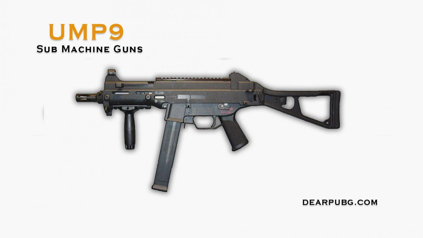 Pubg Handgun UMP9 Description