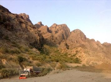 The Suleiman Mountain Range
