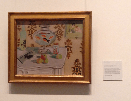 Henri Matisse - The Goldfish Bowl, 1921-22