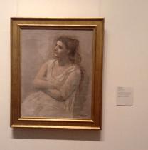 Pablo Picasso - Woman in White, 1923
