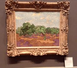 Vincent Van Gogh - Olive Trees, 1889