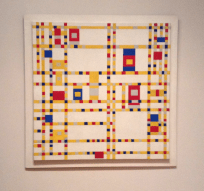 Piet Mondrian - Broadway Boogie Woogie, 1942-43 (MoMA)