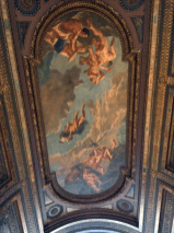 The ceiling of the NYC Public LIbrary