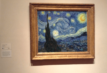 Van Gogh - The Starry Night, 1889 (MoMA)