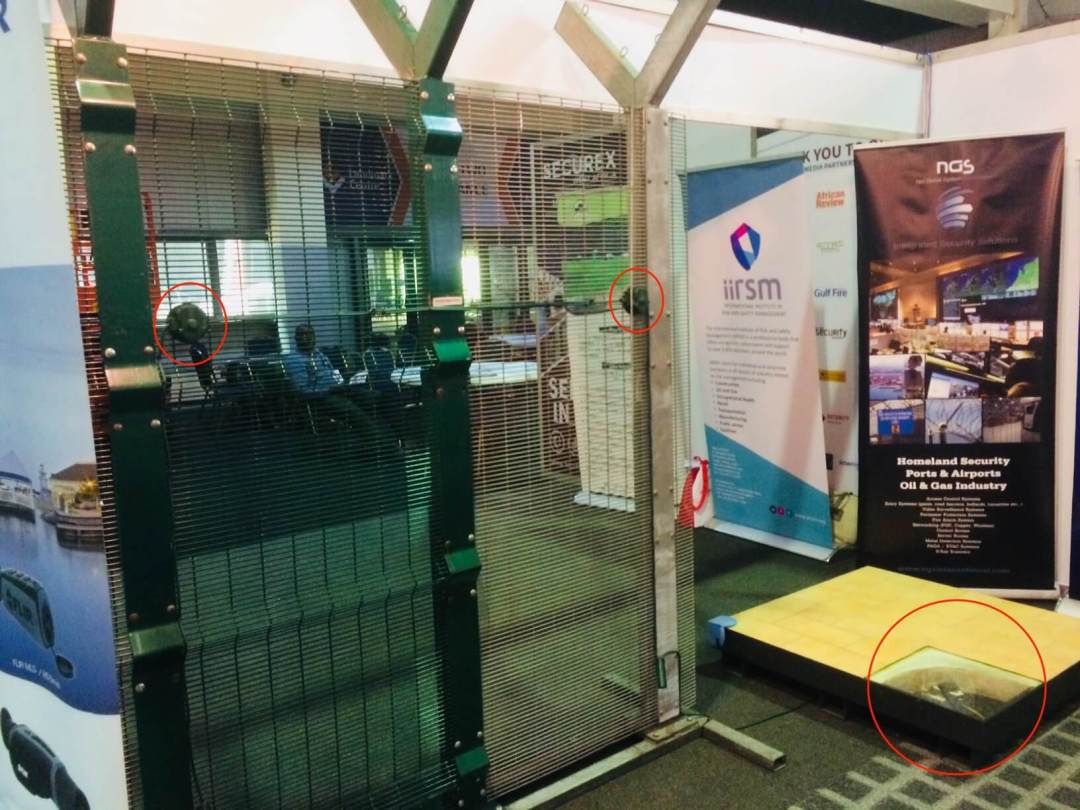 Securex West Africa 2018 - Stand NGS
