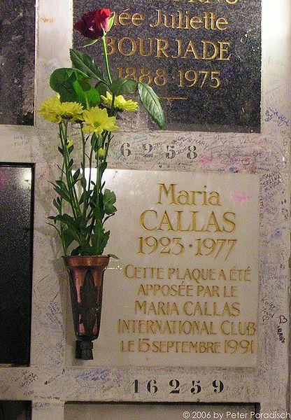 Maria Callas Gravesite