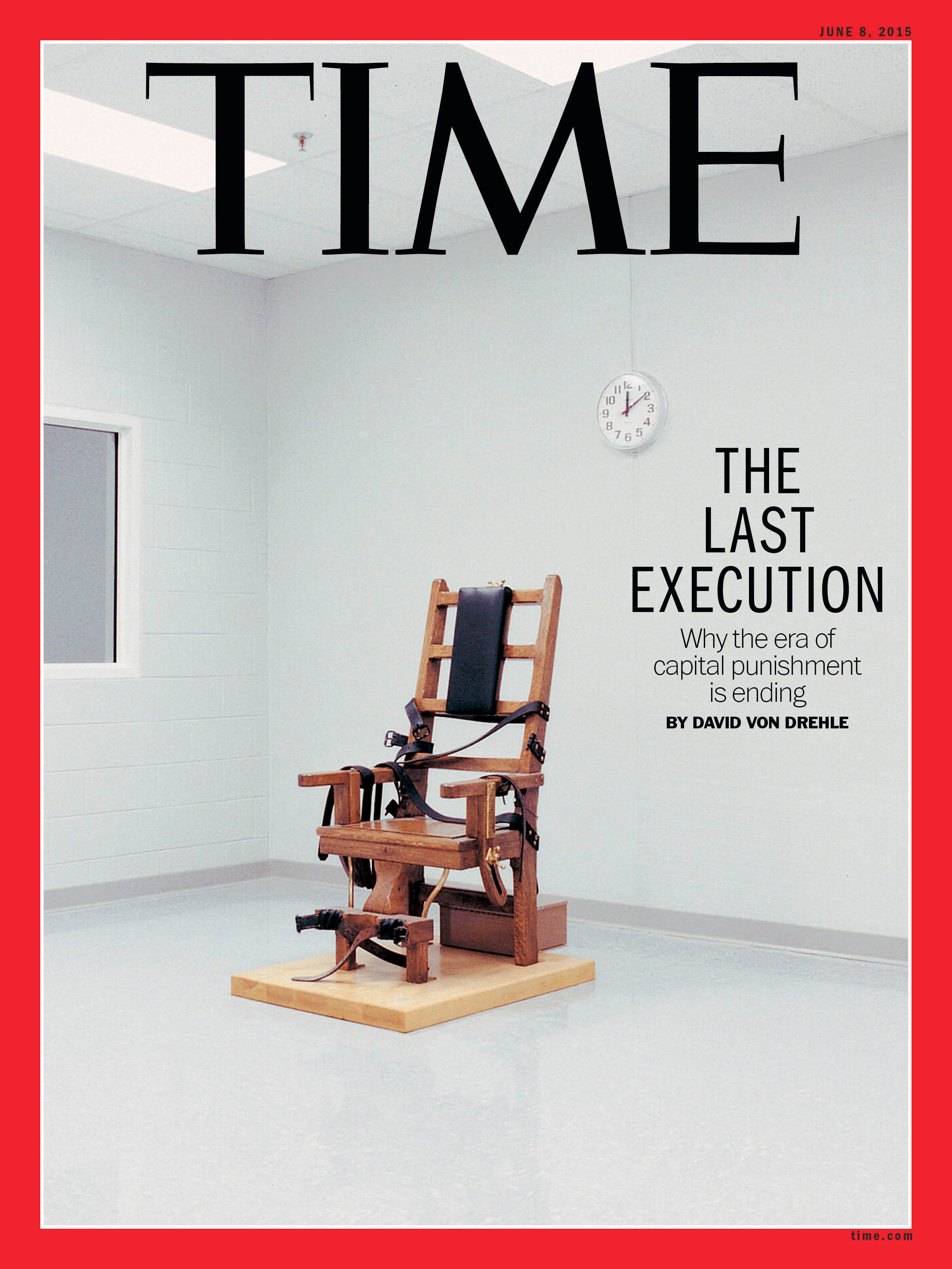 TIME Magazine Poses Five Reasons for Death Penalty Decline  Death Penalty Information Center