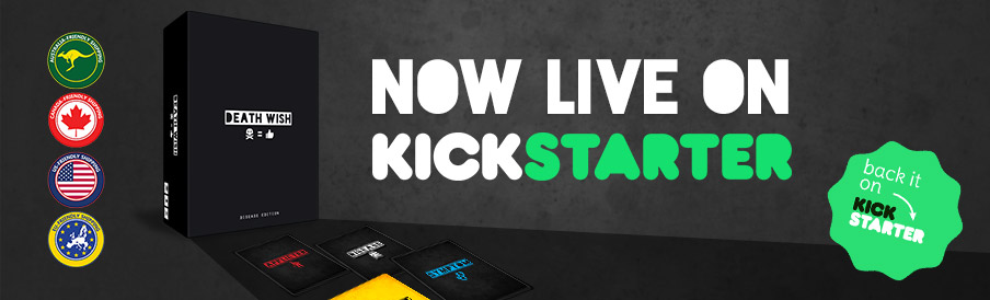 Death Wish live on Kickstarter