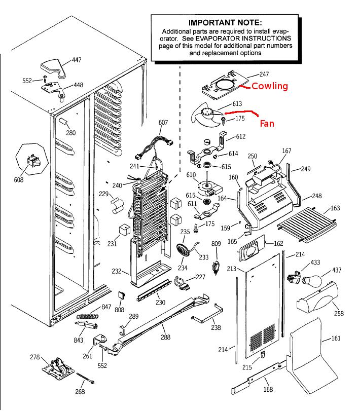 ge refrigerator wiring diagram kubota rtv 900 cooling fan schematics profile fridge 6 22 tefolia de blog microwave schematic data