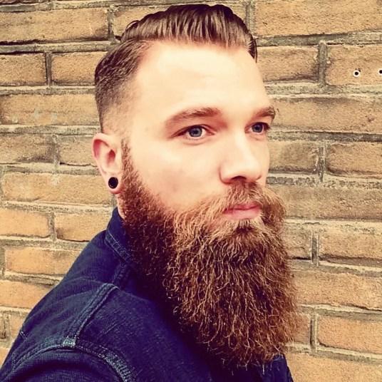 De baard van Robby Verduijn1