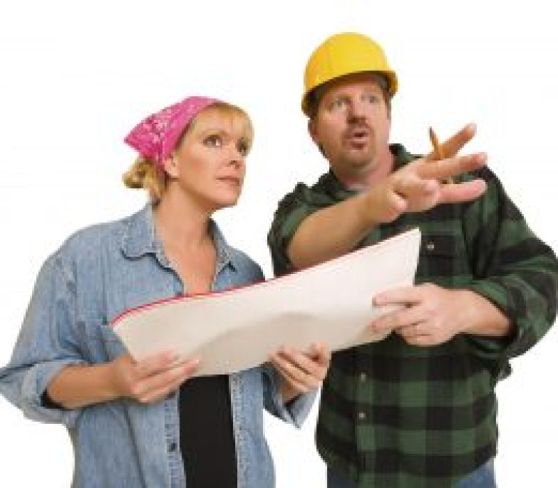 bigstock Male Contractor in Hard Hat Di 116525879