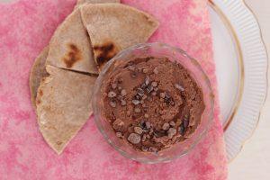 Zoete hummus oftewel gezonde chocoladepasta