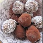 Super Makkelijke Chocolade Hazelnoot Truffels