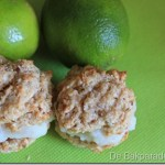 Limoen Curd Gevulde Kokoskoekjes