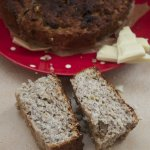 Witte Chocolade Boekweit Banaanbrood