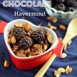 Chocolade Amandel Havermout