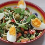 frisse courgette salade