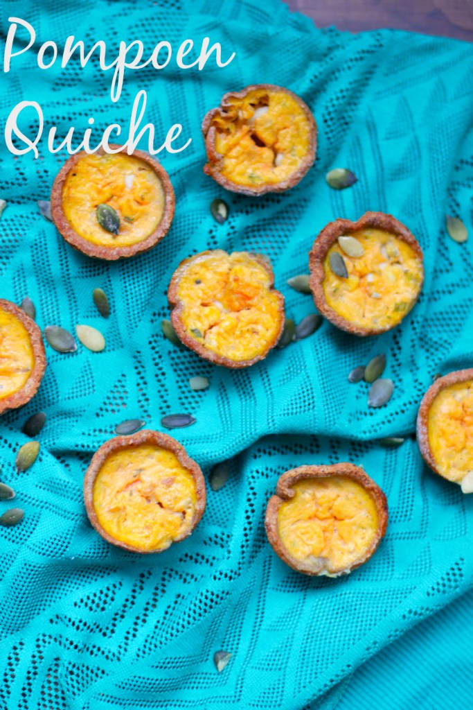 Vegetarische Hapjes: Pompoen Cottage Cheese Mini Quiche