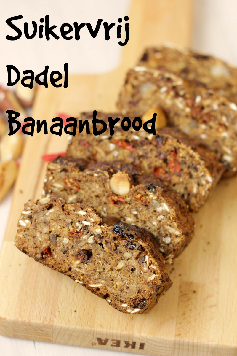 Suikervrij Dadel Banaanbrood
