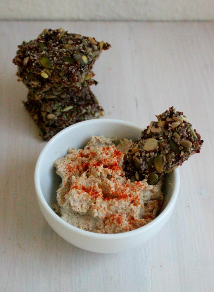 Aubergine Hummus + tips voor de perfecte hummus