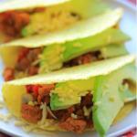 Vegetarische Tacos met Zelfgemaakt Vegetarische Chorizo
