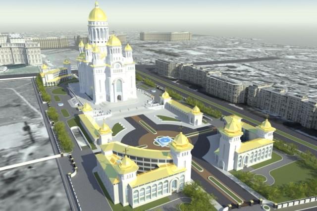 catedrala faraonica