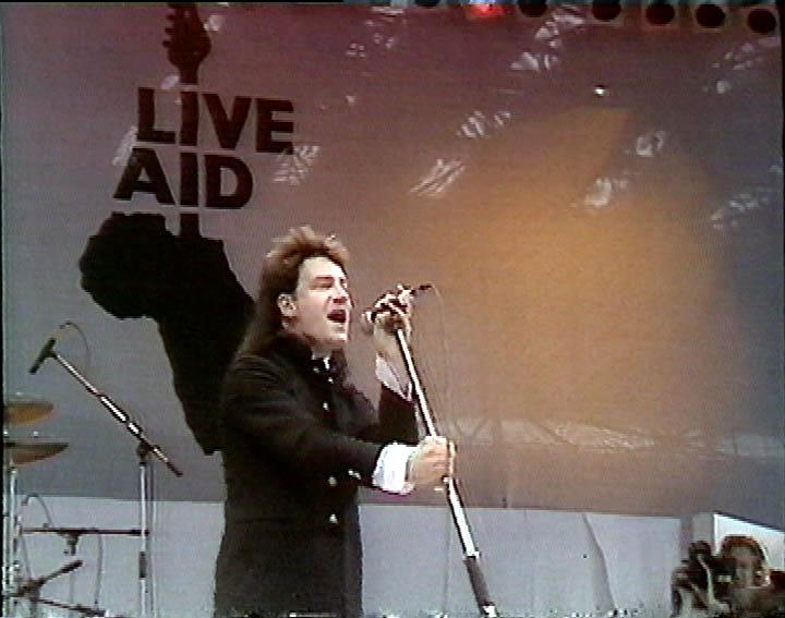 Live Aid 1985 Wembley Londra  U2  Recensione di ClaudioVoX