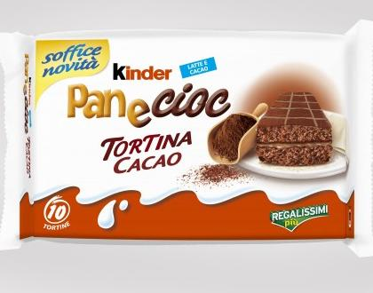 Kinder Pan e Cioc Tortina Cacao  Ferrero  Recensione di