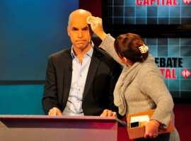Políticos sometidos a Clarín
