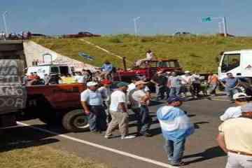 Leuco, Sociedad Rural y el simulacro