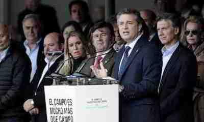 Los grandes estancieros votan a Macri