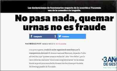 Mendoza Post