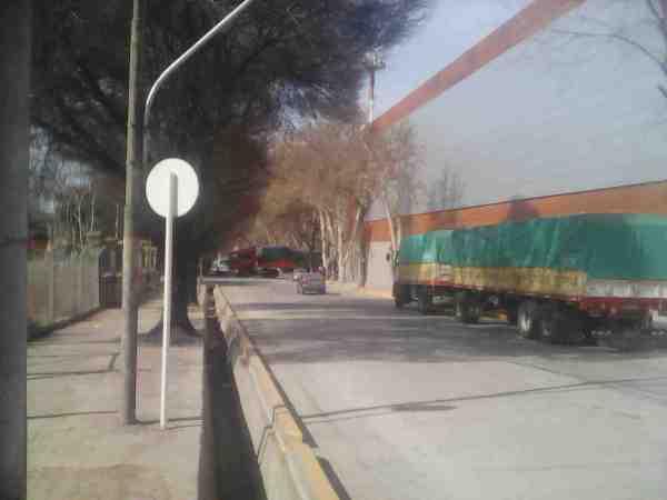 Desacarga de camiones