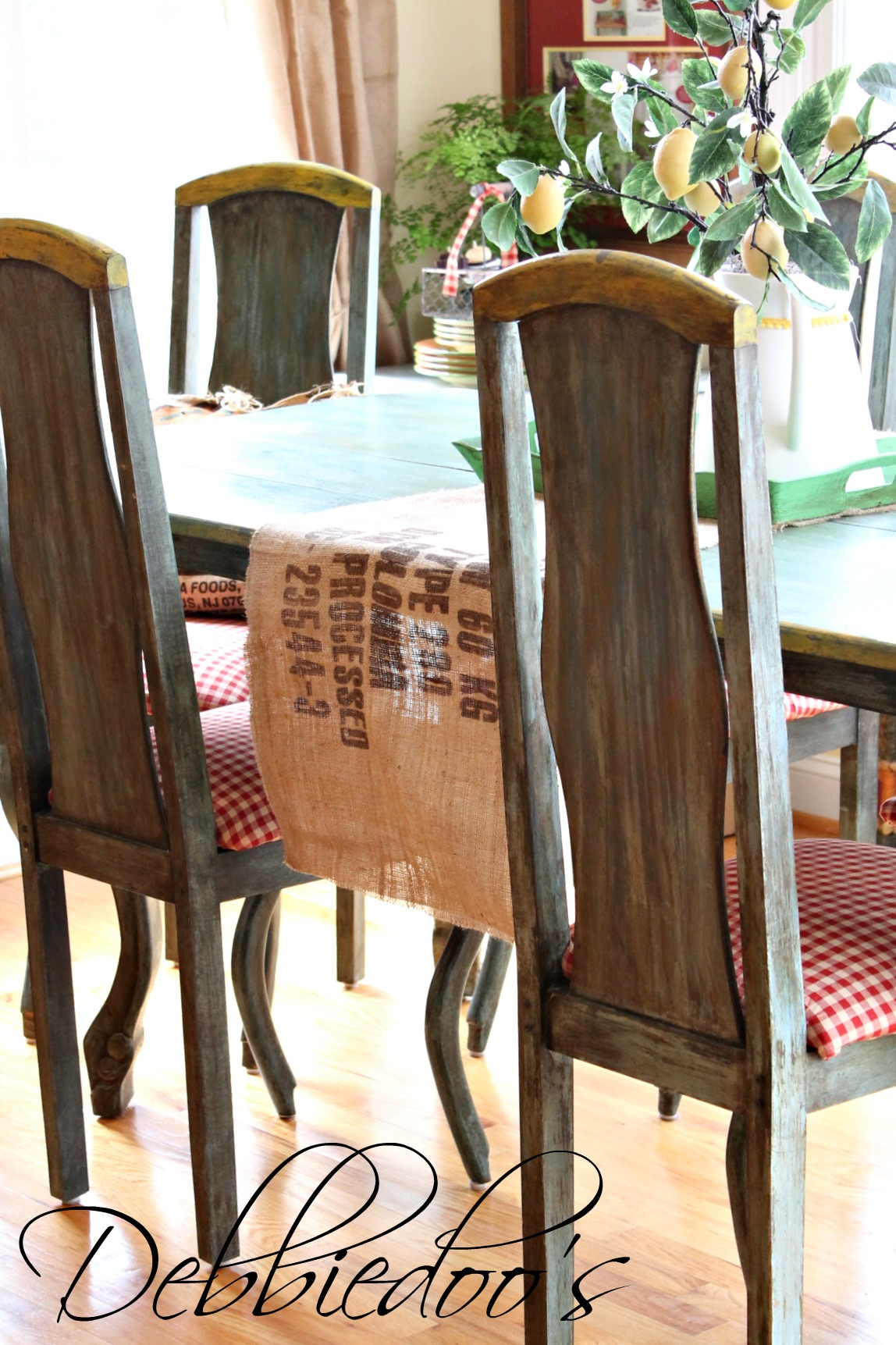 french country kitchen chairs office chair staples style freshened up debbiedoos