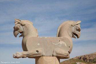 半獅半鷲的神獸,是伊朗航空的logo