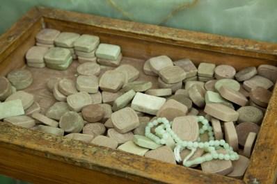 祈禱用的clay tablet