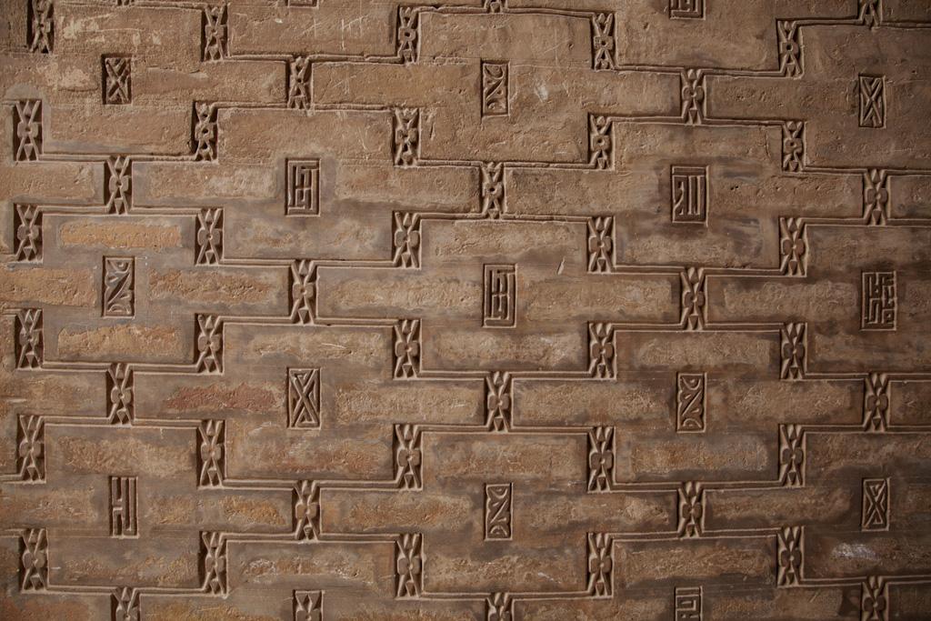 形狀不同的土磚