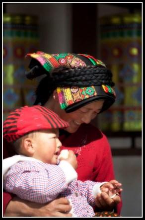 母親與兒子-攝於米亞羅