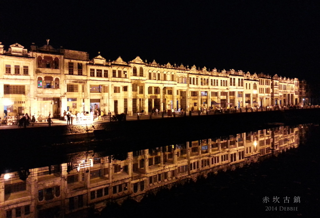 赤坎古鎮夜景