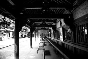 旭社前廻廊
