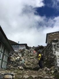 Dingboche, another Sherpa village in the Khumbu region
