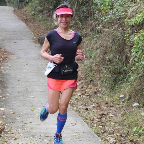 Lantau ladies trail running race