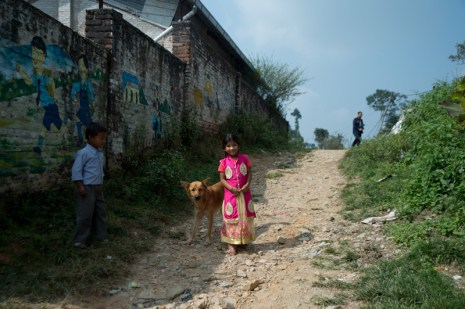 A school in the village